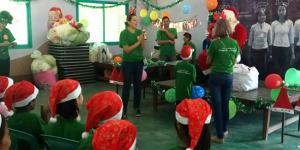 Our Compassionated volunteers are happy on Christmas